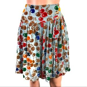 Free People Apple 🍎 🍏 Skirt Size 10